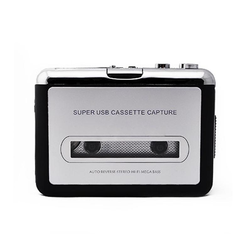 USB Cassette Tape Converter Converter Music Player Audio Capture Platform for PC MP3(China (Mainland))