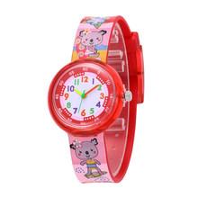שעון ילדים 11 עיצובים חג המולד מתנה חמוד פרח ילדה שעון ילדי אופנה שעון ספורט ריבת קריקטורה חדש ילד reloj infantil(China)