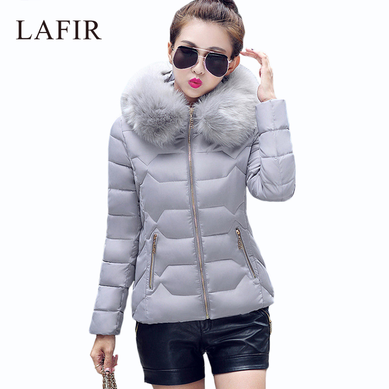 Womens Winter Jackets And Coats 2016 Women's Parkas Thick Warm Faux Fur Collar Hooded Anorak Ladies Jacket Female Manteau Femme(China (Mainland))