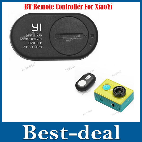 100% Original Xiaomi Yi Bluetooth 4.1 Remote Controller for Xiaomi Yi Sports Action Camera DV Accessories Shutter Wholesales(China (Mainland))
