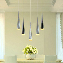 Modern Led Pendant Lamps Living Room Acrylic Stainless Restaurant Bedroom Decorative Pendant Lights Lamparas Home Lighting Lampe(China (Mainland))