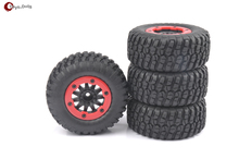 Buy 4 PCS/Set Short Course Truck Tires&BeadLock Wheel Rim 1:10 TRAXXAS Slash RC Car 02 for $25.02 in AliExpress store