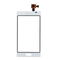 Original For LG Optimus L7 P700 P705 White Digitizer Touch Screen With Flex Cable Replacement Free Shipping