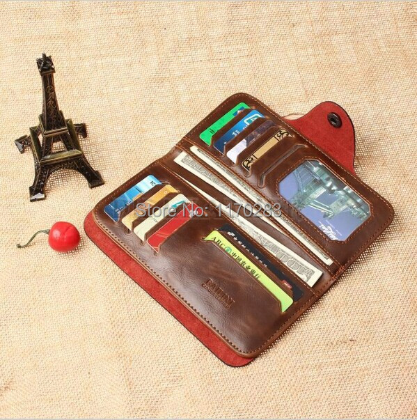 New 2015 men wallets famous brand mens wallet male money purses with zipper long Wallets New