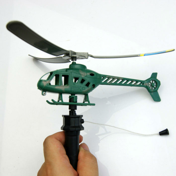 wholesale 5pc shandle pull aircraft / helicopters can fly power cable outdoor aircraft children educational toys for children(China (Mainland))