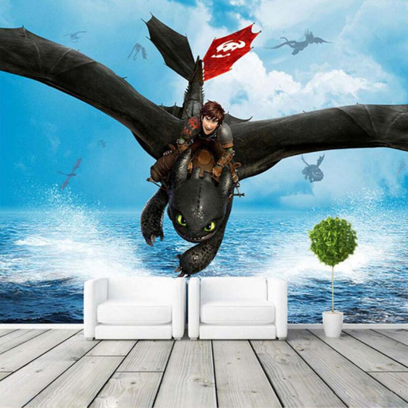 Dragon murals promotion shop for promotional dragon murals for Dragon wall mural