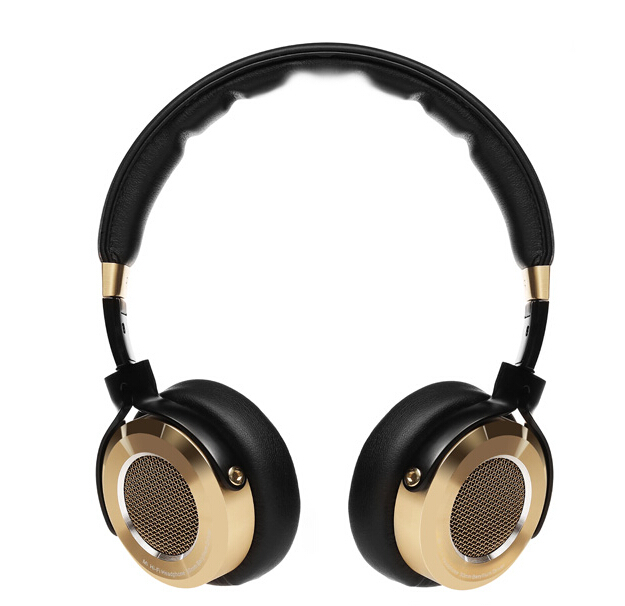 Xiaomi Mi HiFi Headphone 50mm Beryllium diaphragm stereo Earphone With Microphone Gold+Black New Luxury Gift Packing