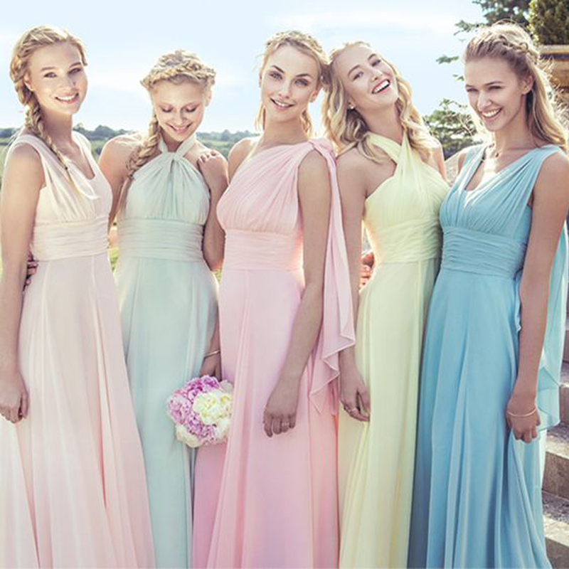 Multi Colored Bridesmaid Dress Promotion-Shop for Promotional ...