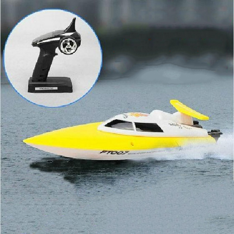 Speedboats 2.4G 4CH RTF RC Boat High Speed Remote Control Toys RC Racing Boat Electric Motorboat Anti-Capsize Max Speed 30KM/H(China (Mainland))