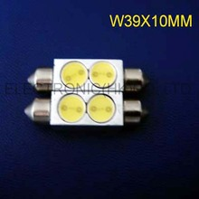 High quality 2W 12V 39mm car led reading lights high power,auto led door lamps free shipping 50pcs/lot