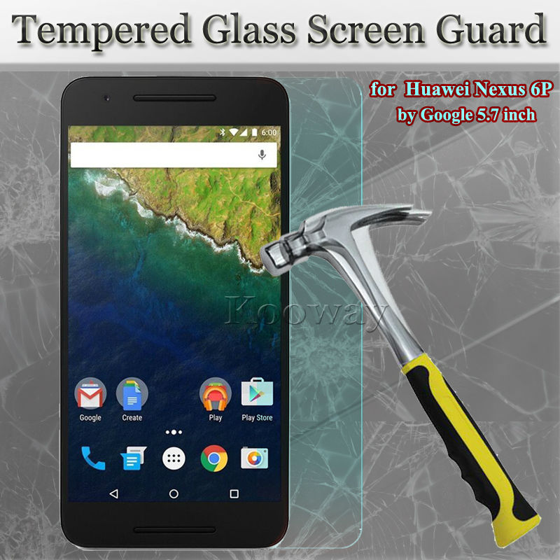 """100Sets Tempered Glass +Dust Sticker+Alcohol Pad for Huawei Nexus 6P 5.7""""inch Glass Screen Protector for LG Nexus 5X, w/Package(China (Mainland))"""
