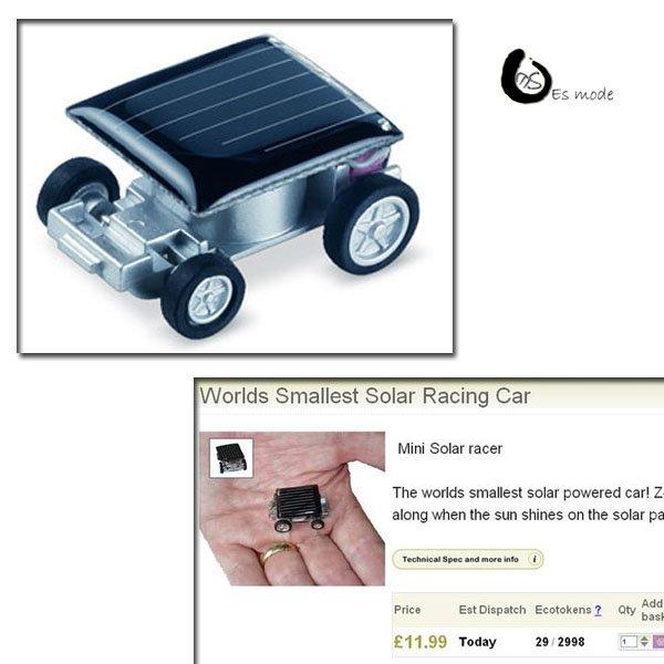 Good kysing quality cute mini solar powered toy car Free Shipping(China (Mainland))