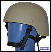 LVL IIIA Tan Mich 2000 Bullet Proof Helmet / Mich Safety helmet / Dupont Kevlar Bulletproof Mich 2000 Helmet With Test Report