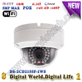 DS 2CD2155F IWS H 265 5MP IP Camera POE Audio Alarm cctv camera Dome kamera wifi