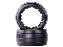Buy baja 5B rear Slicks Tire onroad tyres smooth tyre 1/5 HPI Baja 5B Parts Rovan KM for $26.00 in AliExpress store