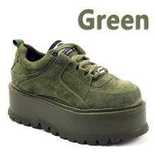 Aphixta Plattform Lace-up Ankle Winter Schuhe Frauen Stiefel Hohe Qualität Höhe Zunehmende Damen Schuhe Kuh Wildleder Mode Dicke boot(China)