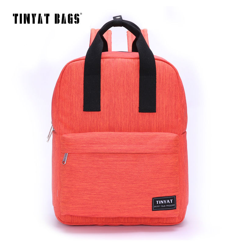 Girl backpack small backpack ladies fashion waterproof canvas bag high quality nylon bag school rucksack college bag for student(China (Mainland))
