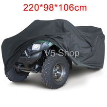 "Large Size XXL 86.61"" x 38.58"" x 41.73"" Waterproof Cover Quad Bike ATV ATC Outdoor Indoor UV Dust Protective(China (Mainland))"