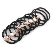 10 Pcs Fashion Girl Elastic Hair Rubber Band Rope Scrunchie Ponytail Holder Bands