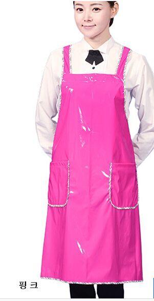 Waterproof Hostess aprons-simple style(China (Mainland))