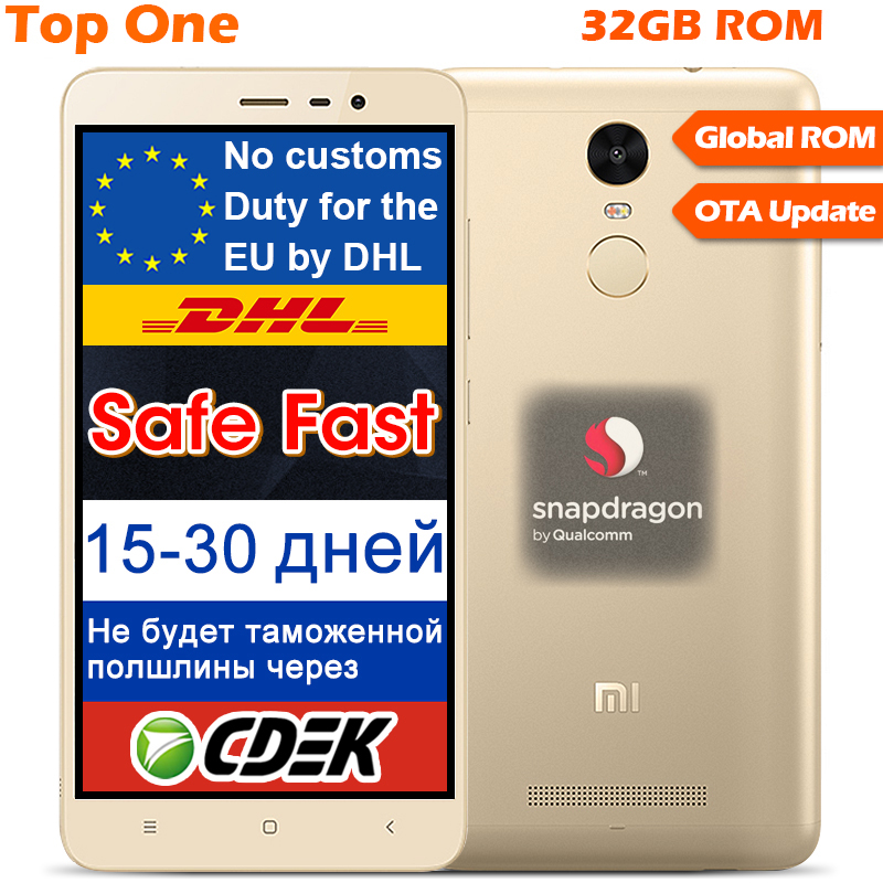 Original Xiaomi Redmi Note 3 Pro Prime Snapdragon 650 Hexa Core 5.5'' 3GB RAM 32GB ROM 4000mAh google play MIUI 7 Fingerprint ID(China (Mainland))