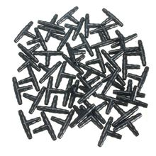 50pcs/lot plastic three direction layout drippers Connector barbed tee connector dripper hose tube zozzle adaptor 35x14x3mm(China (Mainland))