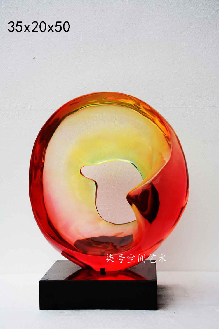 Abstract modern decorations / Hotels sculpture accessories / Modern sculpture space furnishings / living room decorative pendant(China (Mainland))