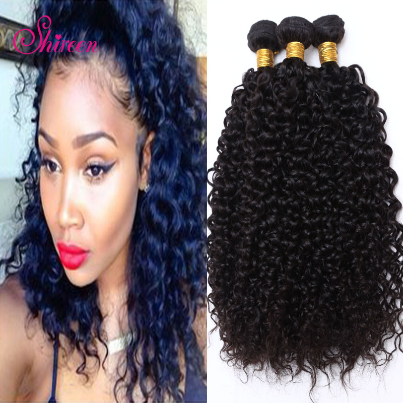 Brazilian Virgin Hair Kinky Curly Queen Hair Products Brazilian hair weave Bundles Afro kinky Curly virgin Hair 100% Human Hair