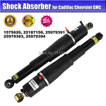 1 x Pair Rear Left + Right  Air Suspension / Shock Absorber for Cadillac GMC OE#1575626, 22187156, 25979391, 25979393, 15945872(China (Mainland))