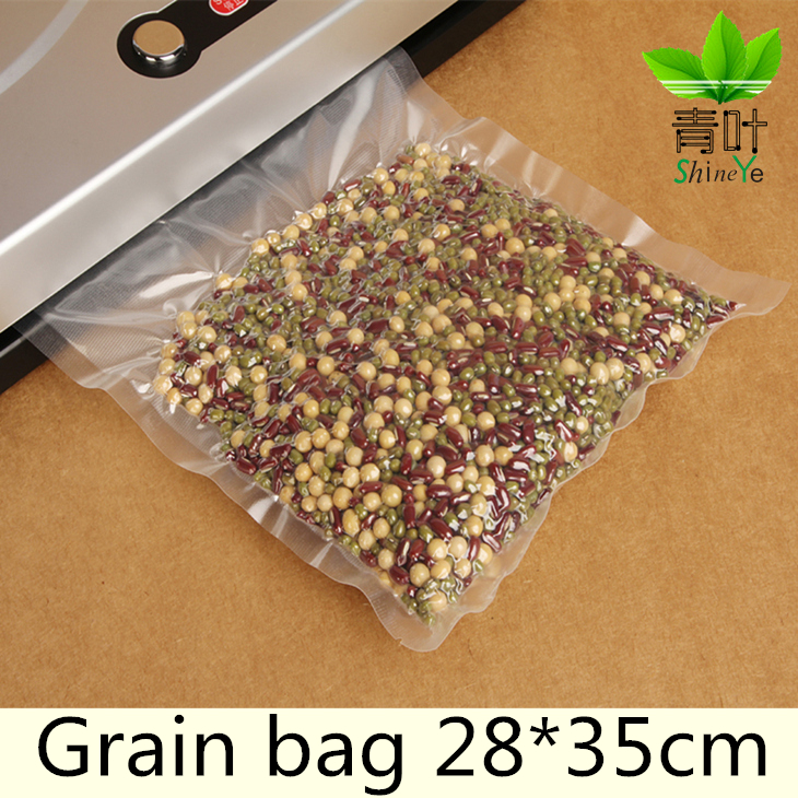 28*35cm/Piece Vacuum Bag Fresh - keeping Bag Food Preservation Bag Storage Bag(China (Mainland))