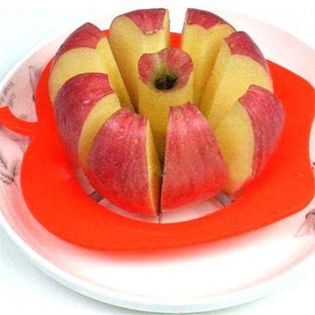 Из нержавеющей Стали Высокого Качества Apple Фрукты Резак Dicing Пилер Бур Slicer Машина Кухня Гаджет