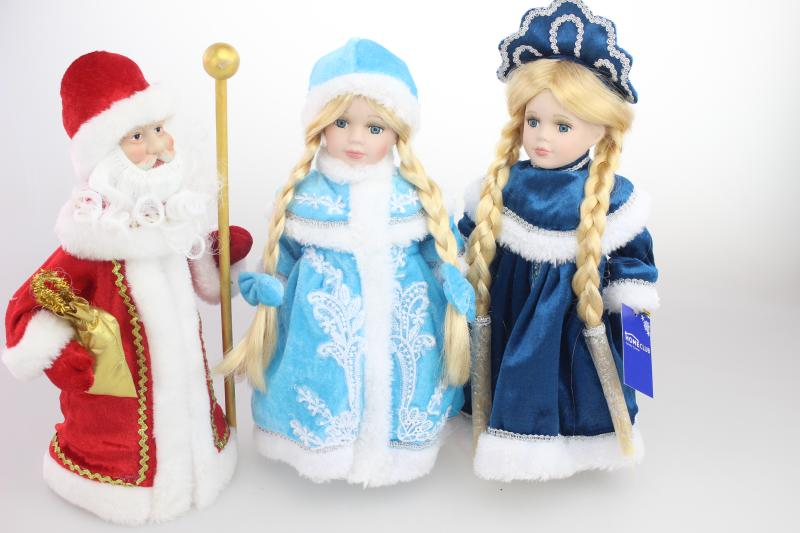 Snow Princess porcelain dolls snowmaid snowgirl Russia winter decoration full set<br><br>Aliexpress