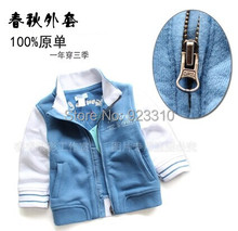 Free shipping new 2014 Spring autumn baby clothes kids jackets & coats boys casual jackets baby outerwear
