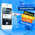 Premium 0 26mm 9H For iPhone 4s Screen Protector For iPhone 4S Tempered Glass Explosion Proof