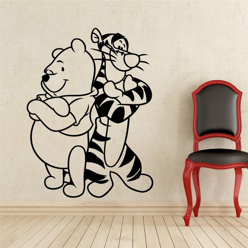 Winnie the pooh tigger beb pegatinas de pared decoraci n for Pegatinas pared nina