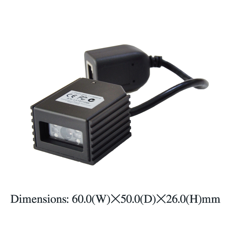 LV3000R RS232 2D barcode scanner module engine various solutions kiosks ticketing machines(China (Mainland))