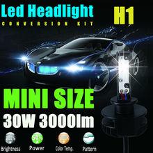 Buy New 2x H1 12V 24V 30W 3000Lm Led Headlight Bulb Headlamp Kit 6000K White High Power Light Lamp Replace Xenon Hid Halogen Fog for $33.54 in AliExpress store