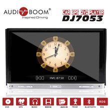 2din win8 UI touch screen car stereo radio DVD GPS player with GPS Bluetooth USB SD TV Rear view camera DJ7053