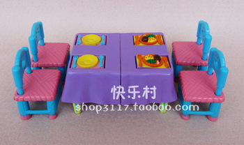 free shipping hot sales, dora furniture, tray table, small dining room, with foue small chair , drop shipping