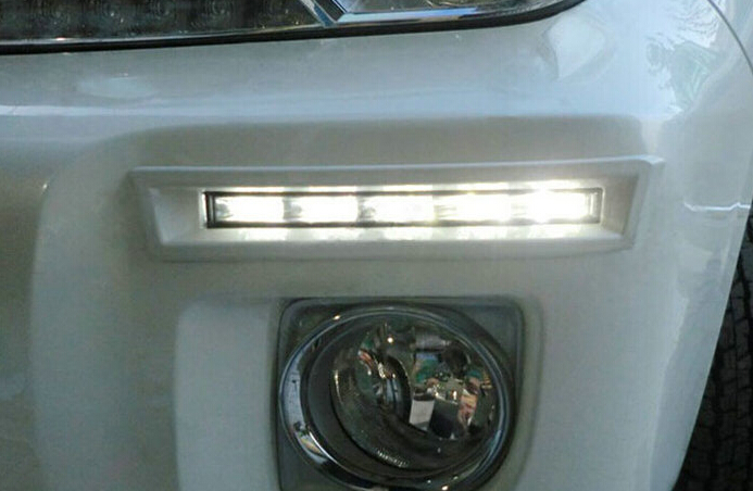 LED Daytime Running Light fog lamp 2012-14 toyota Prado land cruiser FJ200 LC200, 100% waterproof - SMK DRL store
