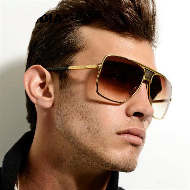 designer oversized sunglasses zjyg  2016 New Luxury Brand Designer Oversized Square Men Sunglasses Vintage  Driving Big Sun Glasses For Male
