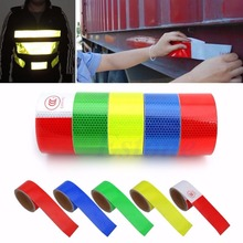 1 Roll 300cm Reflective Tape Stickers Car Styling For Automobiles Safe Material Car Truck Motorcycle Cycling Reflective Tape(China (Mainland))