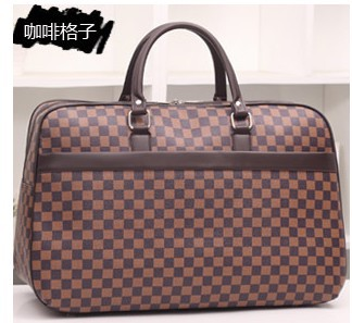 2015 new arrival Classic designer high quality portable men travel duffel bag women carry on luggage weekend overnight bags(China (Mainland))