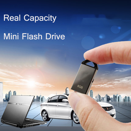 Waterproof Super mini tiny USB Flash Drive 16GB 8GB 4GB mini usb stick Pen drive pendrives flash card gift(China (Mainland))