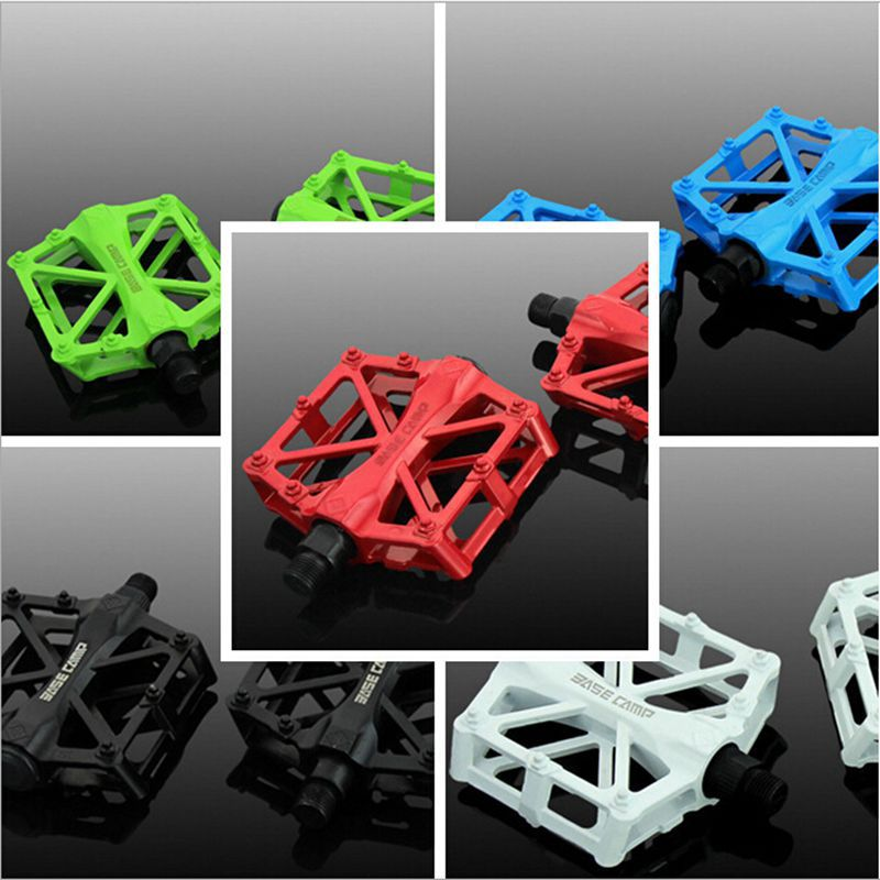 Hot Bicycle Pedals Mountain Bike MTB Road Cycling Alloy Pedal Vintage Bearing BMX Ultra-light Pedal Bike Accessories H5011(China (Mainland))