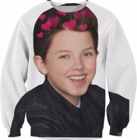 2018 Wholesale Jacob Sartorius Long Sleeve Crewneck Sweats Braces