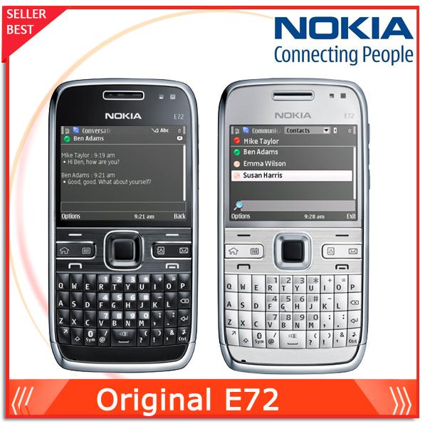 Unlocked Original Nokia E72 cell phones 5MP Camera Wifi Bluetooth FM GPS phone QWERTY Keyboard(China (Mainland))