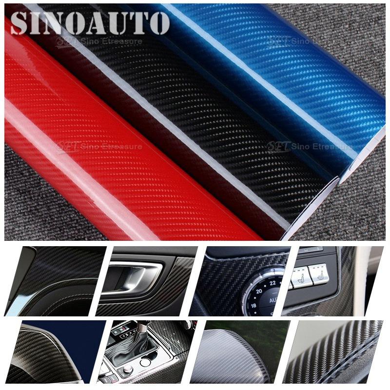 PREMIUM Shinny 5D 4D Carbon Fiber Vinyl Wrap Glossy Textured Carbon Fiber Shiny Foil Air Free Bubble Air Drain 1.52x20m(China (Mainland))