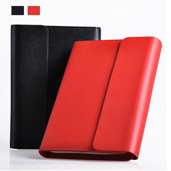 High-grade commercial office stationery gift bag zipper type binder Notepad Fashion business notebook Zipper bag notebook(China (Mainland))