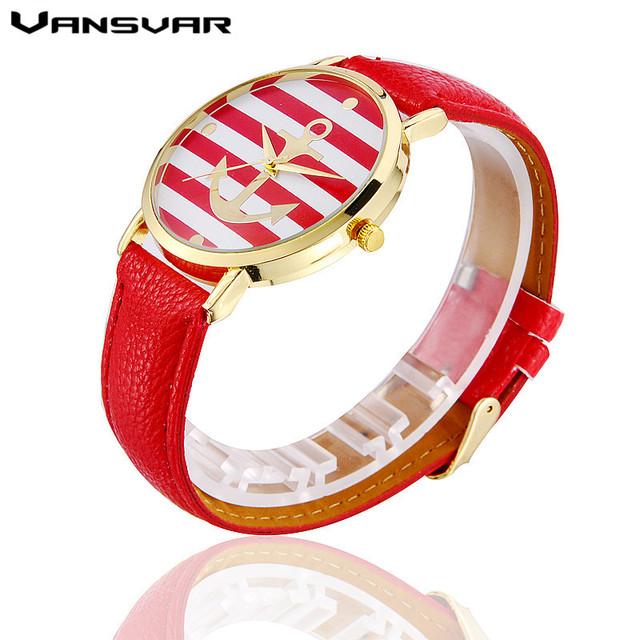 Zegarek damski marinistyczny motyw hit sezonu różne kolory
